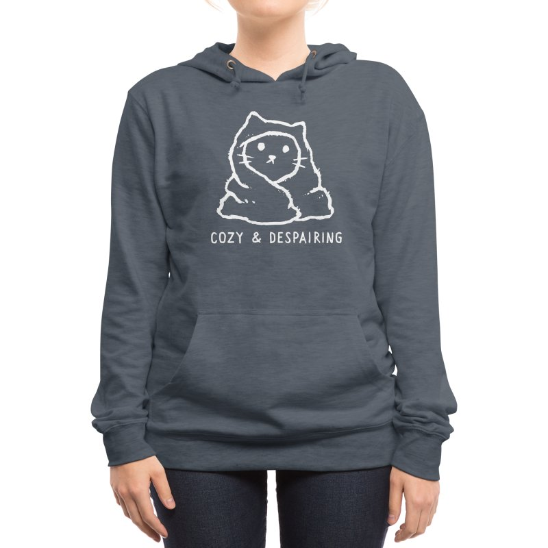 Cozy and Despairing Women's Pullover Hoody by Fox Shiver