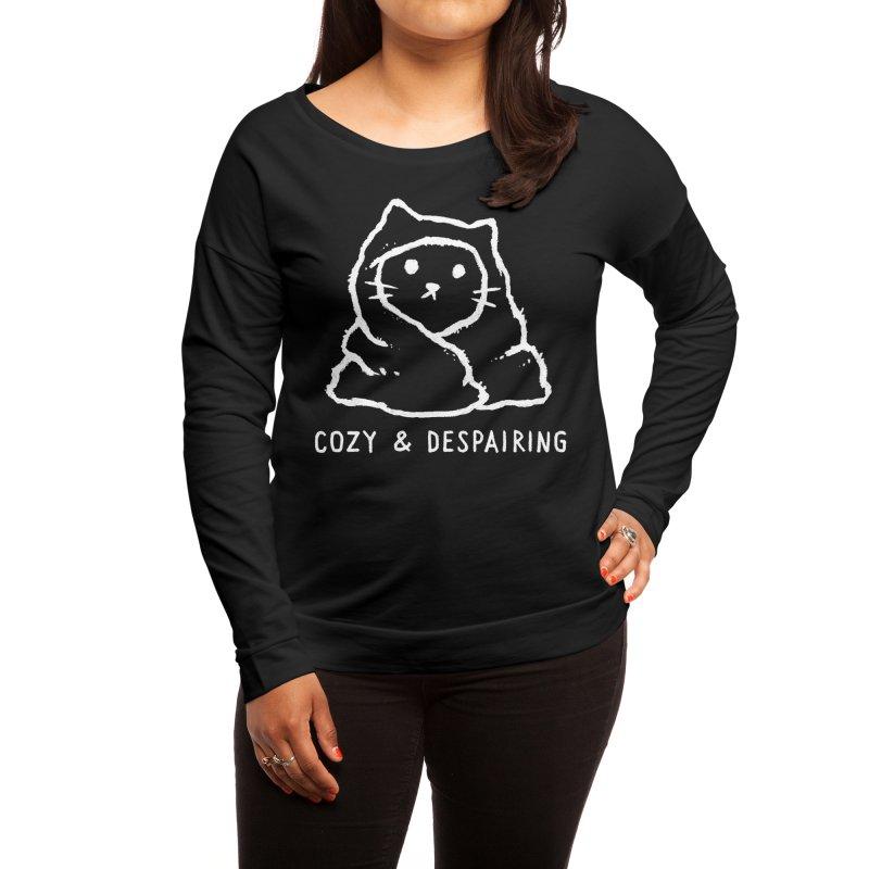 Cozy and Despairing Women's Longsleeve T-Shirt by Fox Shiver