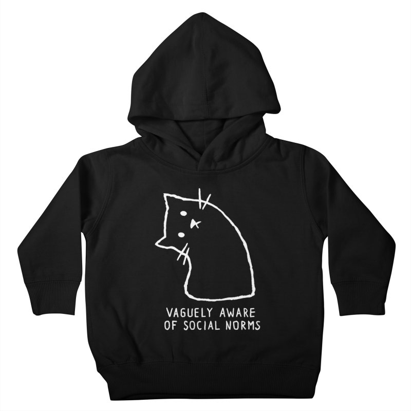 Vaguely Aware of Social Norms Kids Toddler Pullover Hoody by Fox Shiver