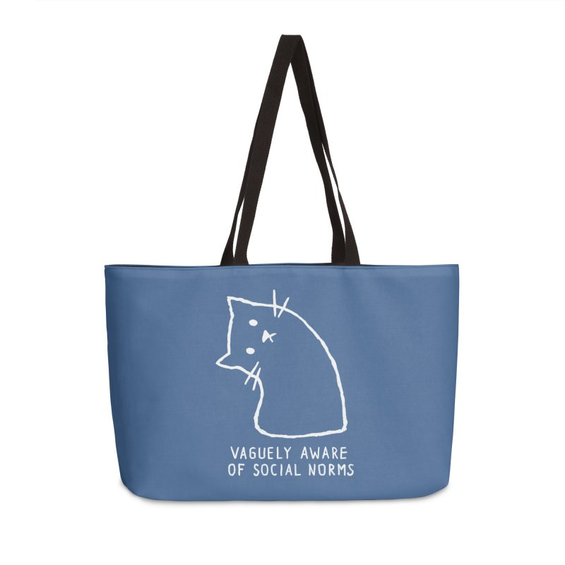 Vaguely Aware of Social Norms Accessories Bag by Fox Shiver