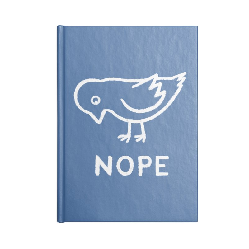 Nope Bird Accessories Notebook by Fox Shiver