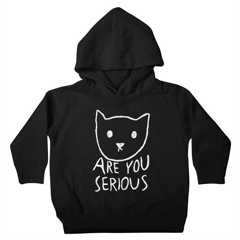 Are You Serious Kids Toddler Pullover Hoody by Fox Shiver