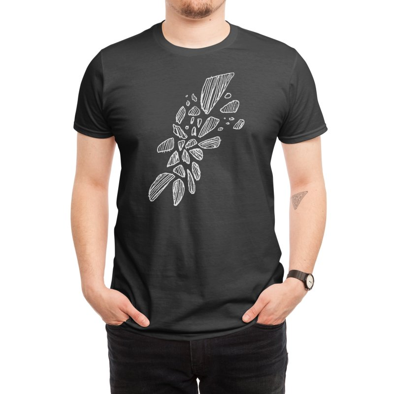 Black Sands Men's T-Shirt by Fox Shiver