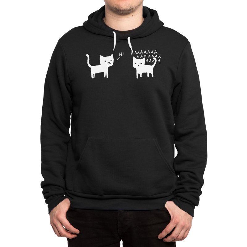 Why did I leave my house? Men's Pullover Hoody by Fox Shiver