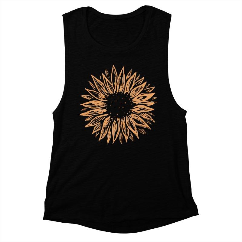 Sunflower Women's Tank by Fox Shiver