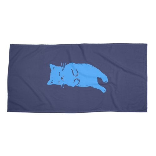 image for Blue Cat Sleeping