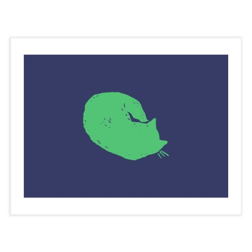 image for Green Cat Sleeping