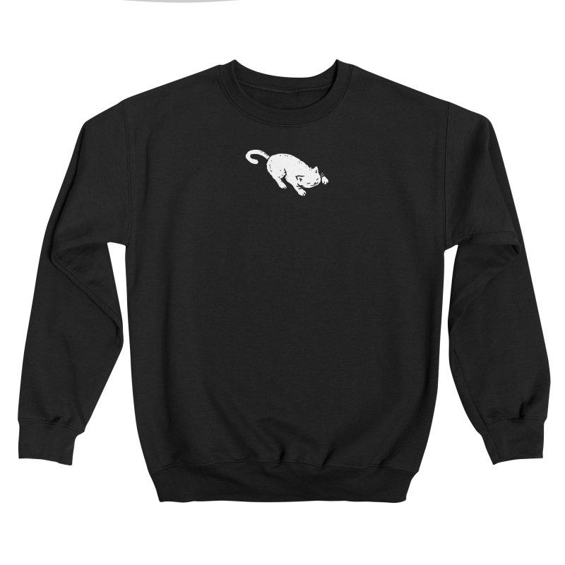 White Cat Sleeping Men's Sweatshirt by Fox Shiver