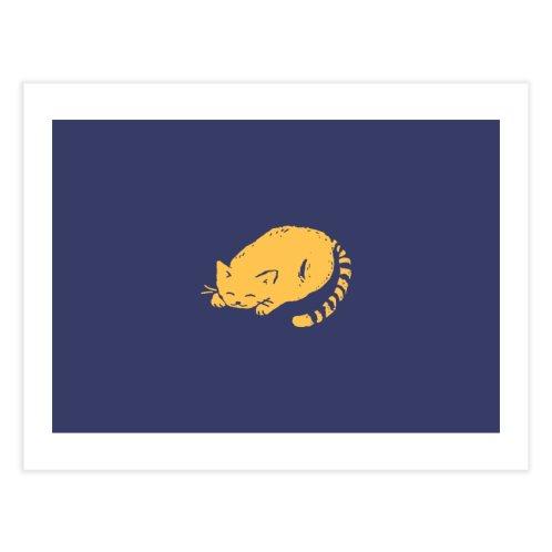 image for Orange Cat Sleeping
