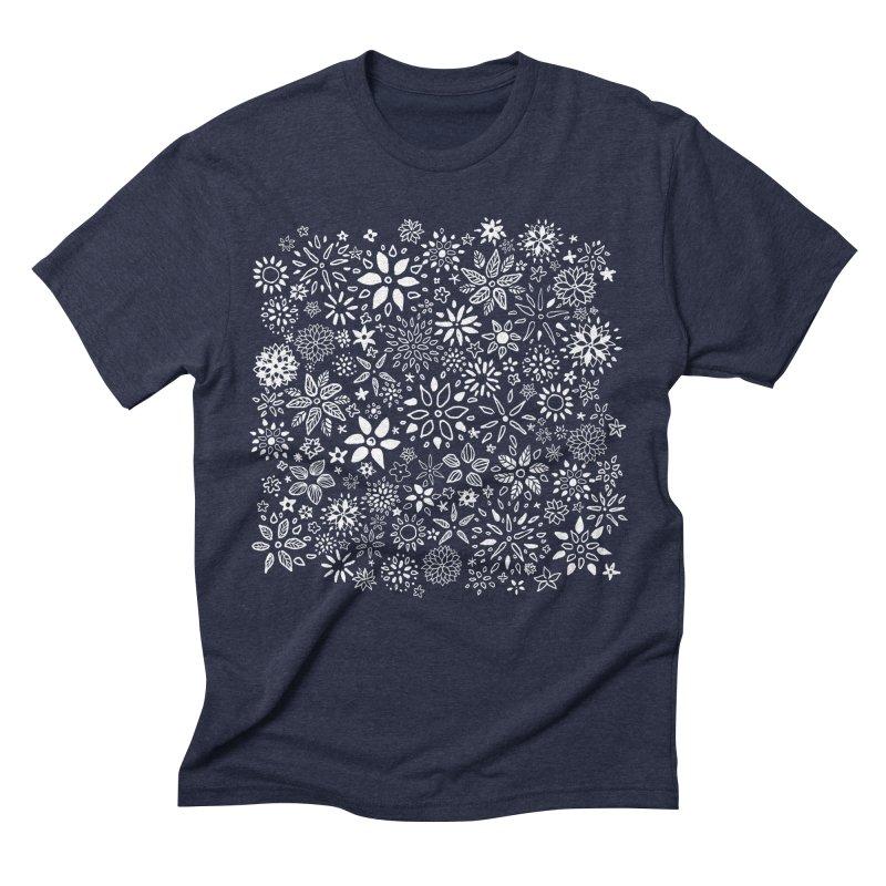 Night Garden Men's T-Shirt by Fox Shiver