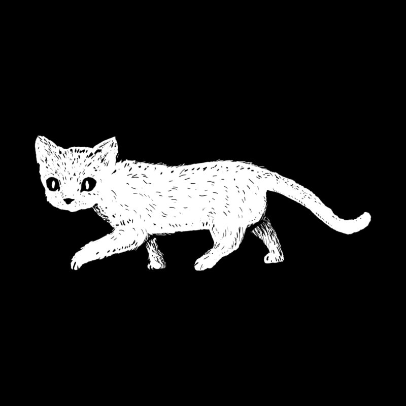 Where are you going, little cat? Men's T-Shirt by Fox Shiver