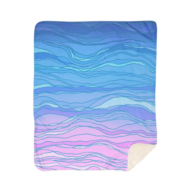 Ocean Song Home Blanket by Fox Shiver