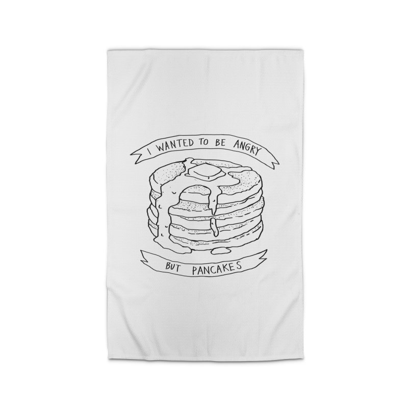 I Wanted to Be Angry But Pancakes Home Rug by Fox Shiver's Artist Shop