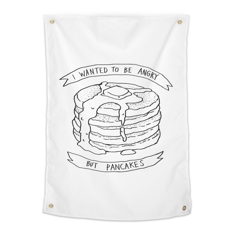 I Wanted to Be Angry But Pancakes Home Tapestry by Fox Shiver's Artist Shop