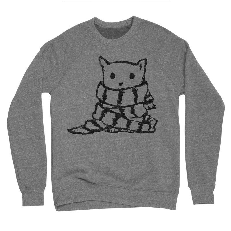 Keep Me Warm Men's Sweatshirt by Fox Shiver's Artist Shop
