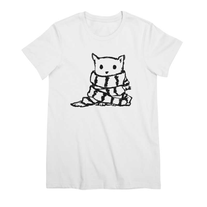 Keep Me Warm Women's Premium T-Shirt by Fox Shiver's Artist Shop