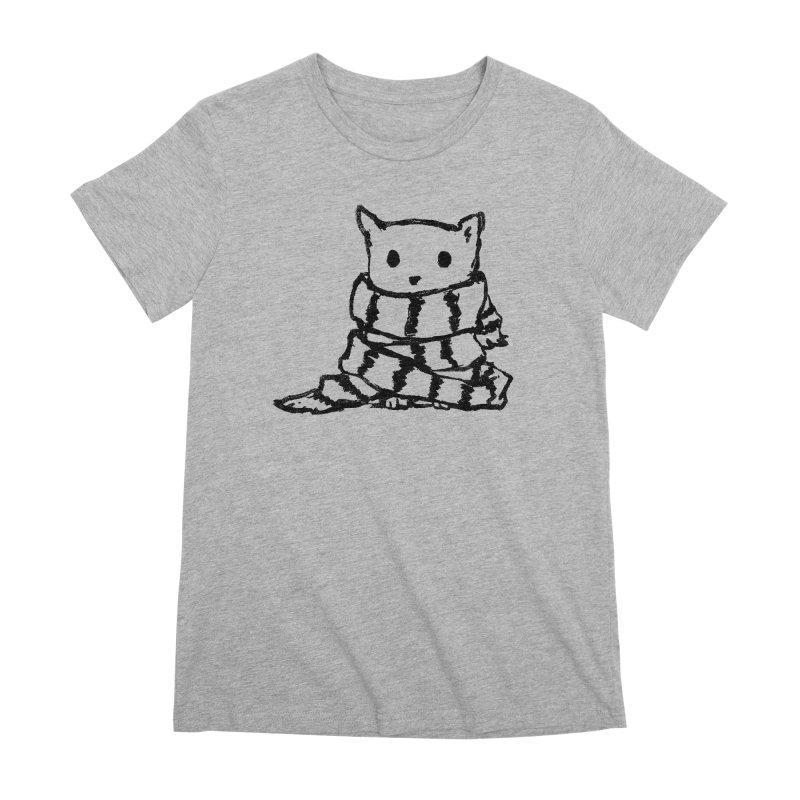 Keep Me Warm Women's Premium T-Shirt by Fox Shiver's Artist Shop
