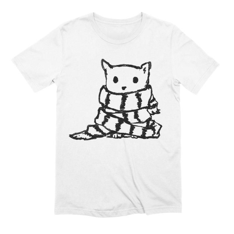 Keep Me Warm Men's Extra Soft T-Shirt by Fox Shiver's Artist Shop