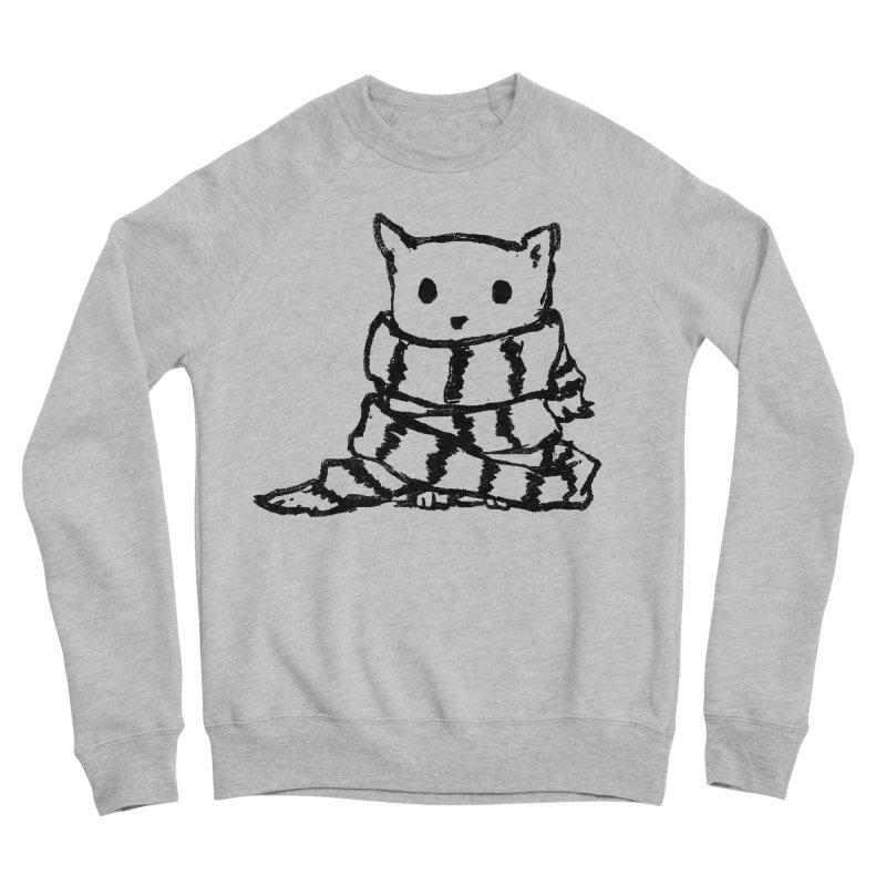 Keep Me Warm Men's Sponge Fleece Sweatshirt by Fox Shiver's Artist Shop