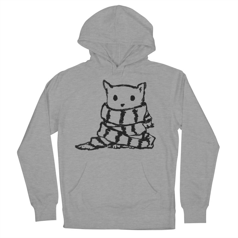 Keep Me Warm Women's Pullover Hoody by Fox Shiver's Artist Shop