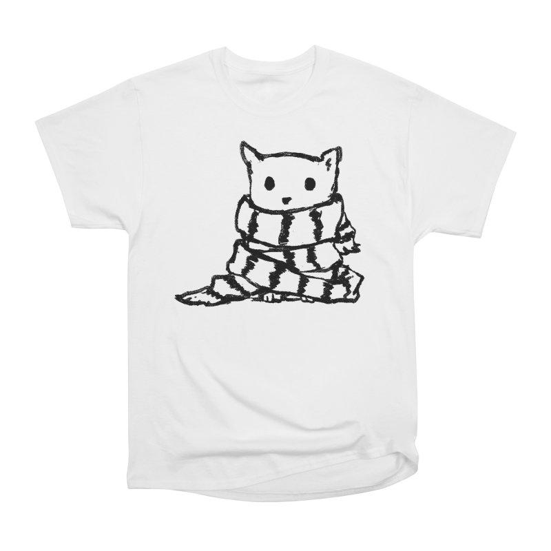 Keep Me Warm Women's Heavyweight Unisex T-Shirt by Fox Shiver's Artist Shop