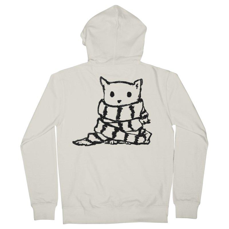 Keep Me Warm Women's Zip-Up Hoody by Fox Shiver's Artist Shop