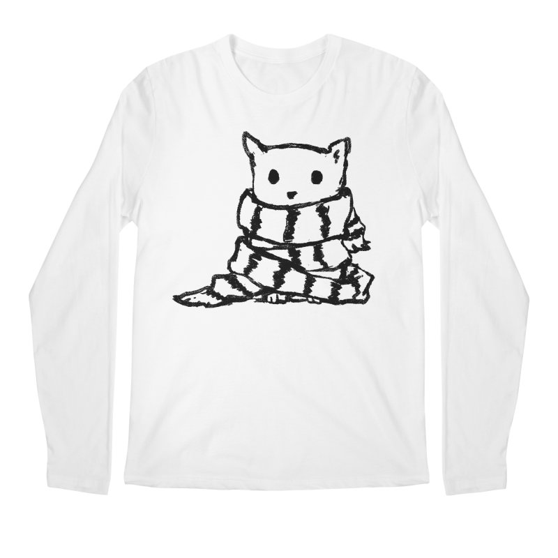 Keep Me Warm Men's Regular Longsleeve T-Shirt by Fox Shiver's Artist Shop