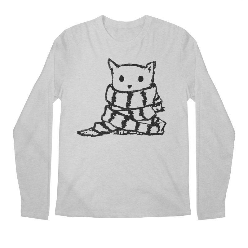 Keep Me Warm Men's Longsleeve T-Shirt by Fox Shiver's Artist Shop
