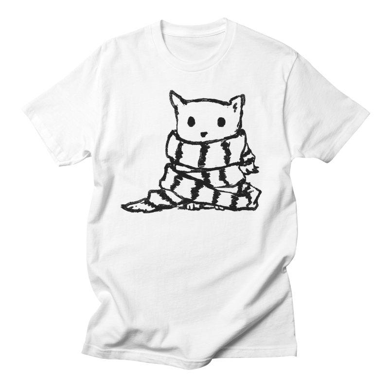 Keep Me Warm Men's Regular T-Shirt by Fox Shiver's Artist Shop