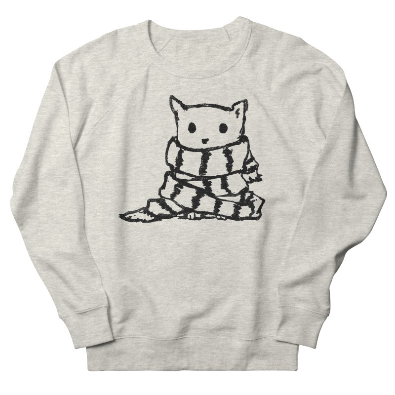 Keep Me Warm Women's French Terry Sweatshirt by Fox Shiver's Artist Shop