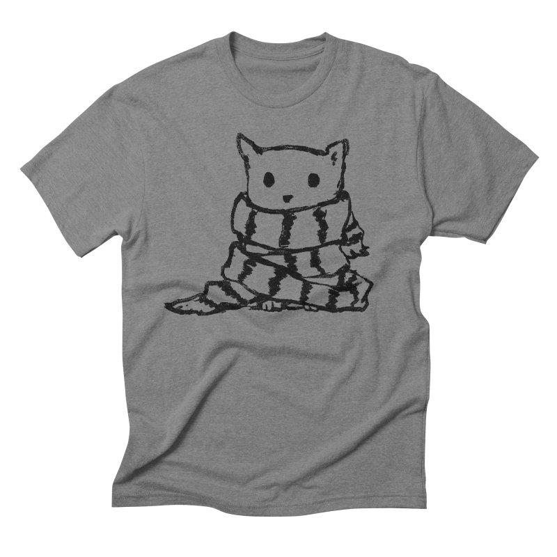 Keep Me Warm Men's Triblend T-Shirt by Fox Shiver's Artist Shop
