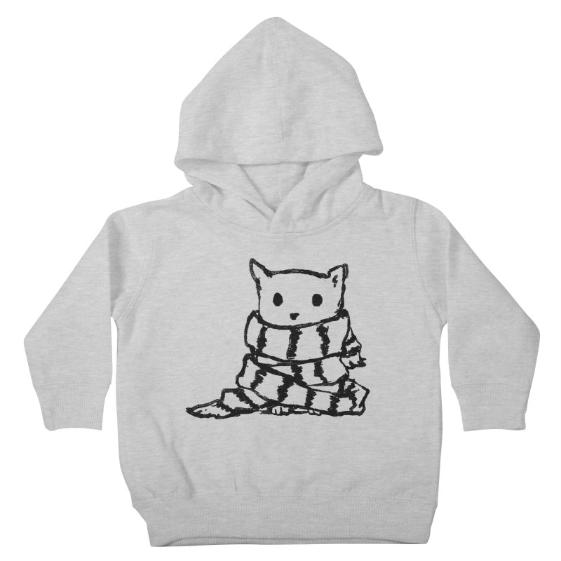 Keep Me Warm Kids Toddler Pullover Hoody by Fox Shiver's Artist Shop