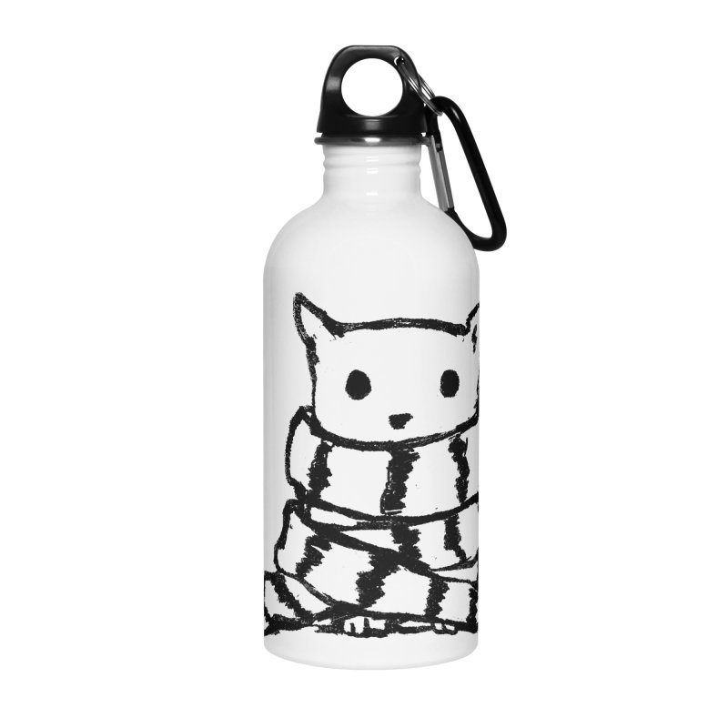 Keep Me Warm Accessories Water Bottle by Fox Shiver's Artist Shop