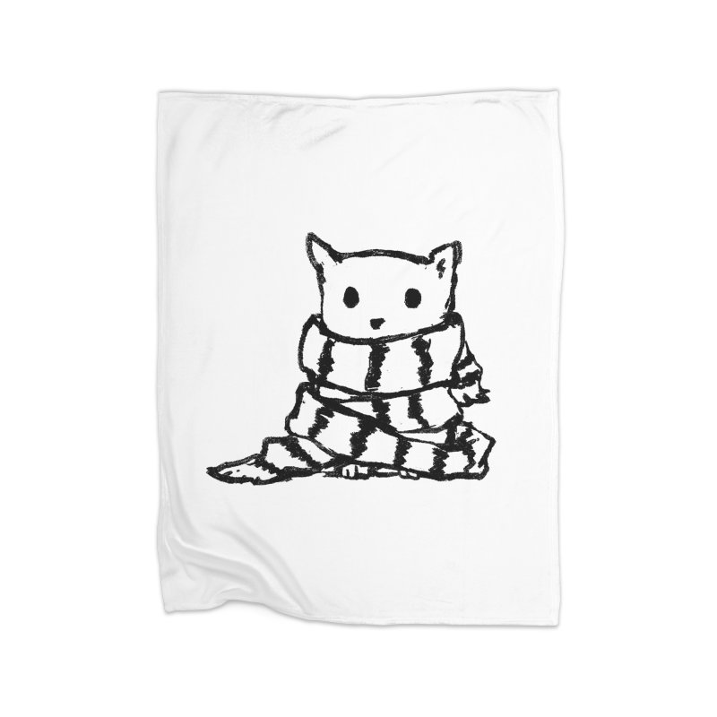 Keep Me Warm Home Blanket by Fox Shiver's Artist Shop