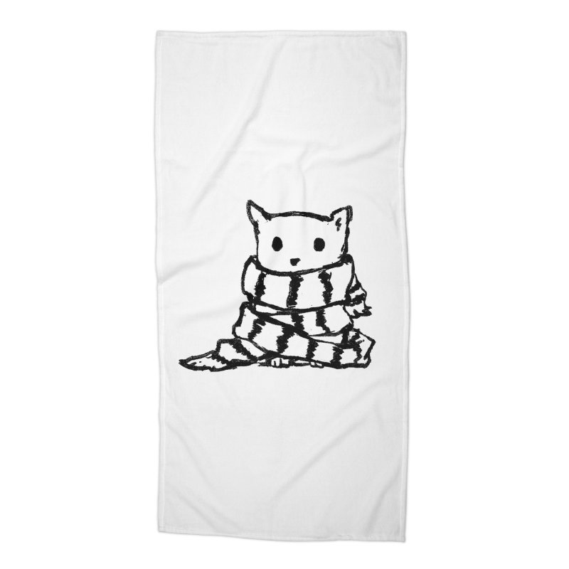 Keep Me Warm Accessories Beach Towel by Fox Shiver's Artist Shop