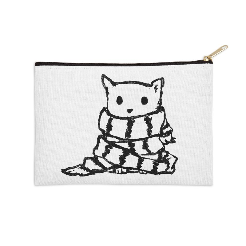 Keep Me Warm Accessories Zip Pouch by Fox Shiver's Artist Shop