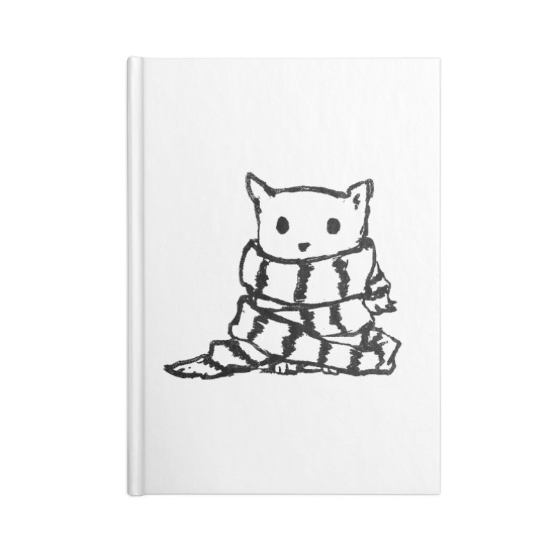 Keep Me Warm Accessories Notebook by Fox Shiver's Artist Shop