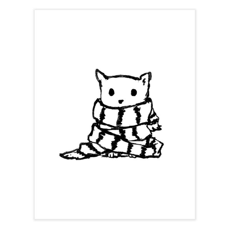 Keep Me Warm Home Bath Mat by Fox Shiver's Artist Shop