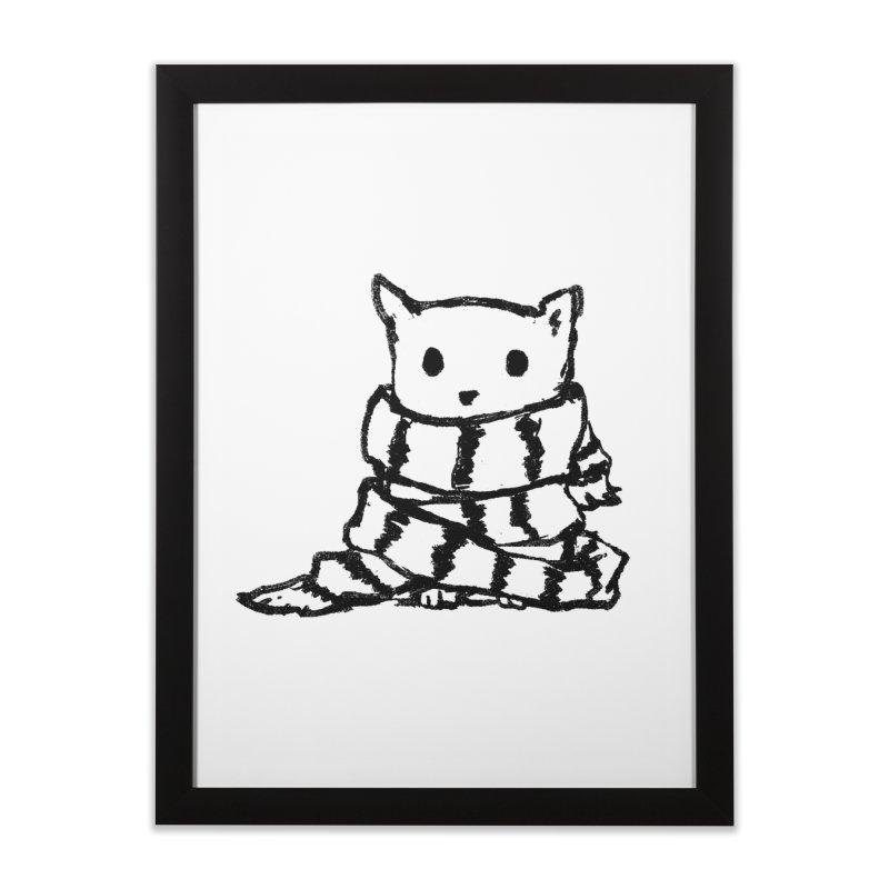 Keep Me Warm Home Framed Fine Art Print by Fox Shiver's Artist Shop