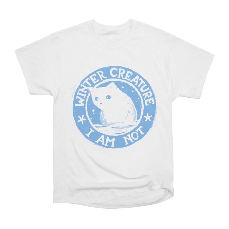 Winter Creature I Am Not Women's Classic Unisex T-Shirt by Fox Shiver's Artist Shop