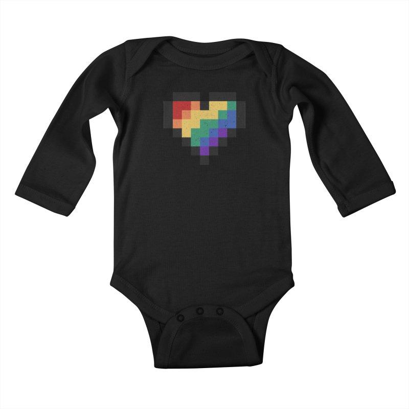 Weird Life Kids Baby Longsleeve Bodysuit by Fox Shiver's Artist Shop