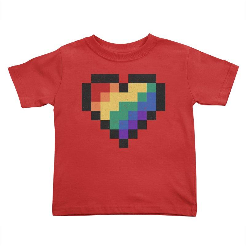 Weird Life Kids Toddler T-Shirt by Fox Shiver's Artist Shop