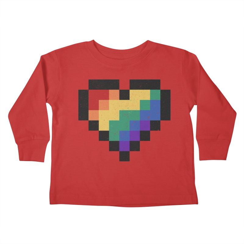 Weird Life Kids Toddler Longsleeve T-Shirt by Fox Shiver's Artist Shop