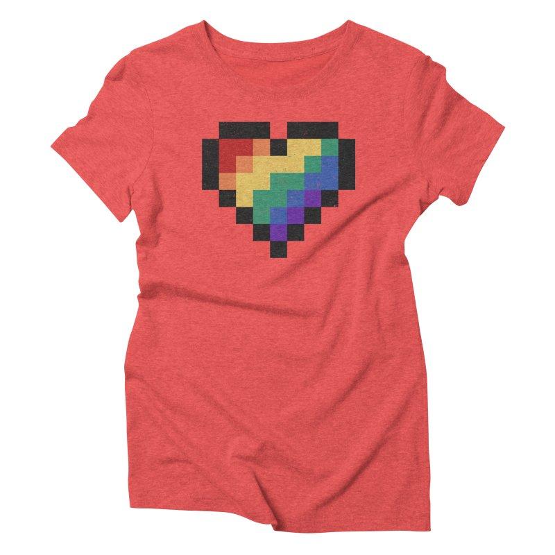 Weird Life Women's Triblend T-Shirt by Fox Shiver's Artist Shop