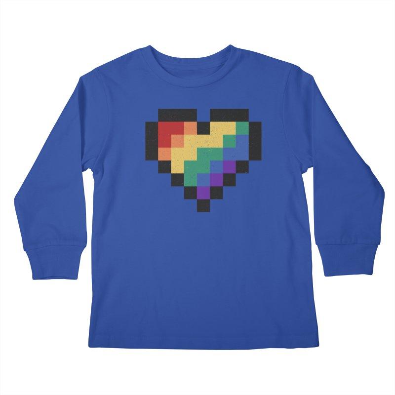 Weird Life Kids Longsleeve T-Shirt by Fox Shiver's Artist Shop