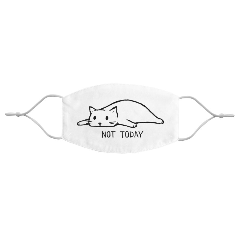 Not Today Accessories Face Mask by Fox Shiver