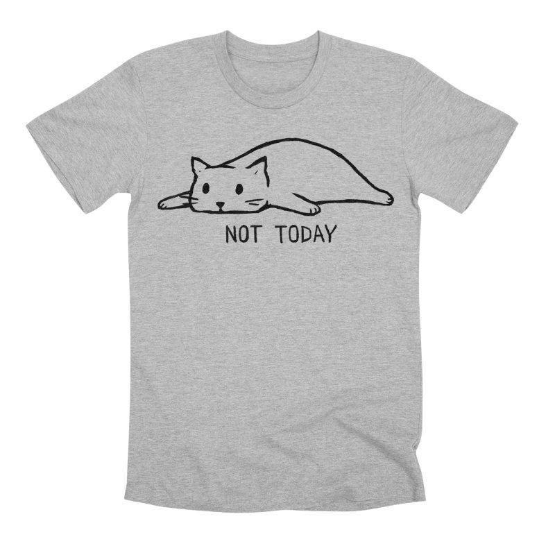 Not Today Men's Premium T-Shirt by Fox Shiver's Artist Shop