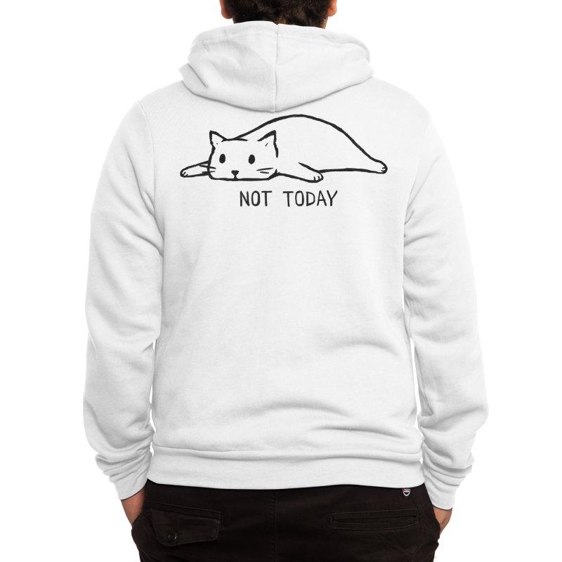 Not Today Men's Zip-Up Hoody by Fox Shiver