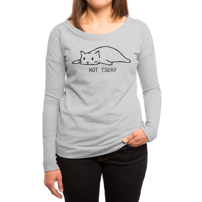 Not Today Women's Longsleeve T-Shirt by Fox Shiver