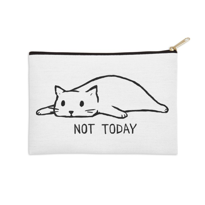 Not Today Accessories Zip Pouch by Fox Shiver